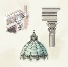 Types Of Architectural Plans How To Draw Architectural Street Scenes