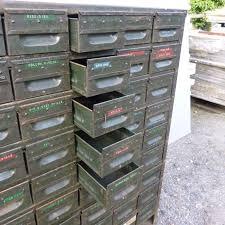 vintage industrial metal chest or drawers v u0026v reclamation