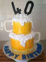 40th birthday cakes sweet simple bold lavish