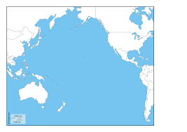 Map Of Pacific Ocean Pacific Ocean Free Map Free Blank Map Free Outline Map Free