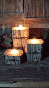 best 25 log candle holders ideas on pinterest wood candle