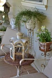 Shabby Chic Patio Decor by Shabby Chic Porch Porches Decks Outdoor Seating Areas