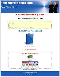 Sales Page Template sales page templates creating simple sales page templates