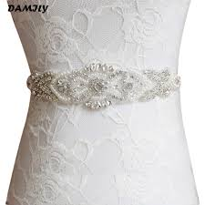 wedding dress belts women s wedding belts satin rhinestone wedding dress belt