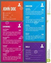 Awesome Resume Templates Free Free Resume Templates Metro Design Cv Template Stock Vector