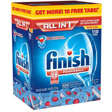 Rinse Dishwasher Finish Dishwasher Rinse Aid And Detergent Deals At Costco As Low