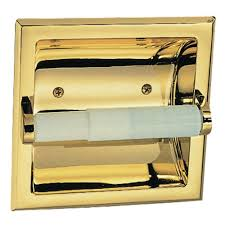 recessed toilet paper holders bathroom hardware the home depot