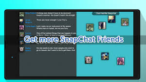 chat find for snapchat android apps on google play