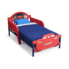 Disney Cars Home Decor Kids Beds Wayfair Disney Cars 3d Convertible Toddler Bed Loversiq