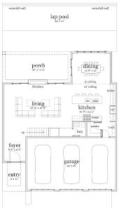 contemporary modern house plan 67586 floor plans modern houses