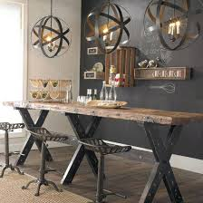 dining table rustic industrial dining table perth room chairs