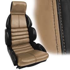 corvette seat covers c4 c4 corvette 1984 1996 100 leather 2 toned sport seat covers