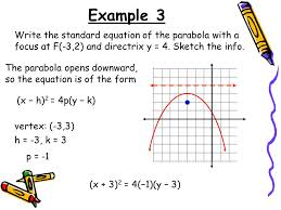 8 2 graph and write equations of parabolas ppt download