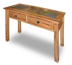 Oak Sofa Table Sedona Rustic Oak Sofa Table 3145 S Afw