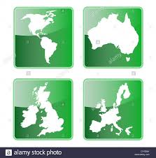 North And South America Map by Icon Showing Map Of North And South America Australia Great