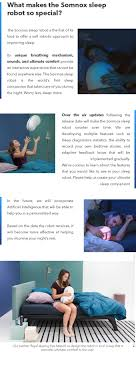 Seeking Robot Date Somnox World S Sleep Robot To Improve Your Sleep By