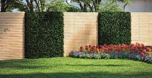 holz sichtschutz zaun sichtschutz selber bauen obi gartenplaner
