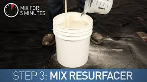 Concrete Step Resurfacing Products by How To Resurface Concrete Concrete Solutions Resurfacer Bag Mix
