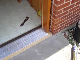 exterior door threshold in fabulous home decor inspirations p87