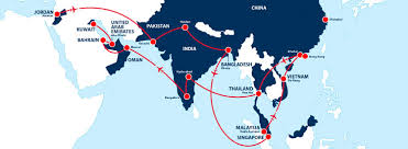 map middle east uk raf arrows asia pacific middle east tour 2016
