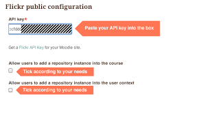 moodle theme api how to use flickr as a moodle image repository elearning themes