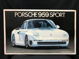 tamiya porsche 959 未組立 フジミ fujimi 1 16 porsche 959 sportポルシェ 959 シュポルト