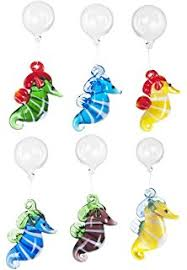 colorful floating glass aquarium fish charms by ganz