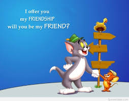 funny tom jerry friendship cartoon