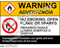 spfa safety committee releases bi lingual jobsite safety signs for