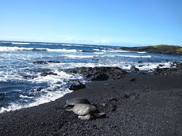 6 stunning black sand beaches you have to visit lamtrip
