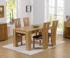 Light Oak Dining Table And Chairs Ta 150cm Oak Dining Table Set Solid Oak Dining Table Set