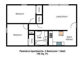 750 Sq Ft Peakland Apartments Apartments For Rent Lynchburg Va
