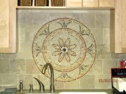 tile medallions for kitchen backsplash kitchen backsplash medallions moneyfit co