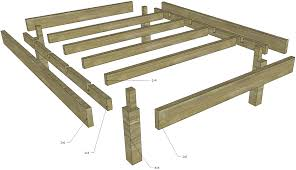 Assembling A Bed Frame Woodworking How To Build Disassemblable Structure Home