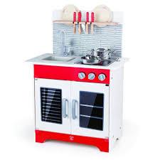 Play Kitchen Red Hape City Cafe Play Kitchen E3144 Grow Children U0027s Boutique Ltd