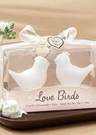 salt and pepper wedding favors birds white bird tea candle favor health