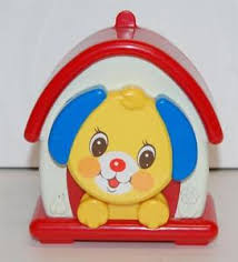 fisher price puppy musical crib toy hangs on wall how much is that
