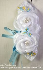 silk corsages silk wrist corsages for baby showers