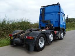 mitsubishi j54 daf cf 85 430 6 x 2 tractor unit