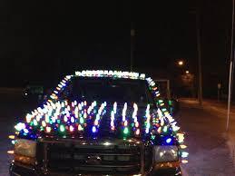 christmas lights wichita ks david hill kansas man gets fined 300 after decorating truck with