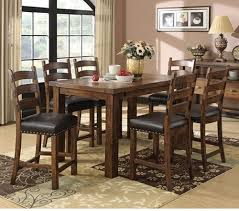 9pc dining room set emerald home chambers creek 7 piece counter height dining table
