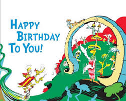 happy birthday dr seuss image happy birthday to you 2nd book cover jpg dr seuss wiki