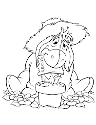 eeyore coloring pages perfect related wallpaper for eeyore