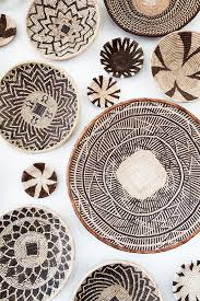 Home Decor Magazines South Africa African Basket Wall Art Installation I Created From Baskets I