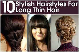hair style for very fine thin hair and a round face unique hairstyles long thin hair round face hairstyles for very