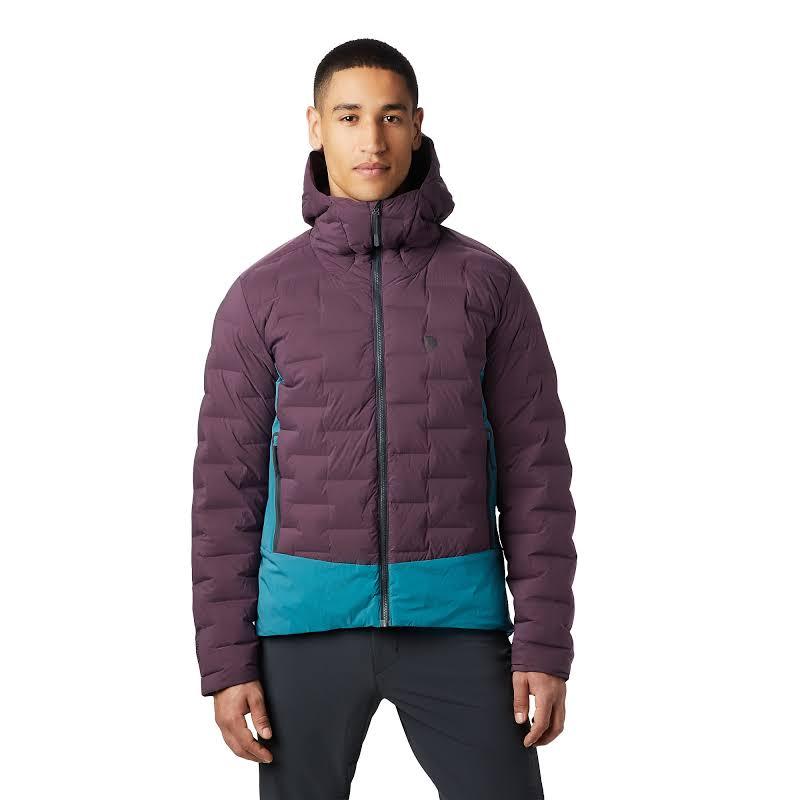 Mountain Hardwear Super/DS Stretchdown Climb Jacket Darkest Dawn Large OM8267509-L