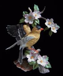 Home Interior Masterpiece Figurines Homco Masterpiece Porcelain Goldfinch 1994 Canary Birds Of Season