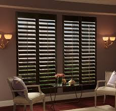 dark wood window shutters u2022 window blinds