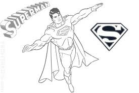 coloring case letter superhero superman 531015