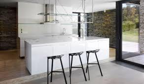 stools metallic barstools range hood white kitchen island